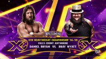 WWE 2K15- Daniel Bryan vs Bray Wyatt Fall Count Anywhere Match 2015 (PS4)