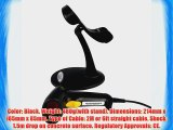 USB Barcode Scanner Wired Handheld Continuous Scanning Barcode Scanner Reader w/ Adjustable