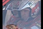 WRC onboard camera - Mitsubishi Lancer Evo