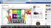 add Stickers and stickers effects to Facebook photos -Urdu and hindi Video Tutorial - www.PakTutorials.tk