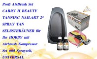 Profi AirBrush Set CARRY II BEAUTY TANNING NAILART