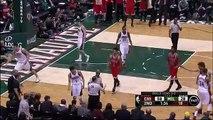 Bucks' Giannis Antetokounmpo ejected flagrant foul 2 on Bulls' Mike Dunleavy Jr.