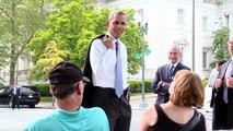 President Barack Obama Surprise: The President Barack Obama In Public Place