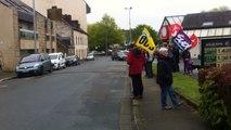 Un 1er mai suivi par une centaine de personnes à Carhaix