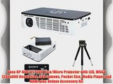 Aaxa KP-600-01 P300 Pico/Micro Projector with LED WXGA 1280x800 Resolution 300 Lumens Pocket