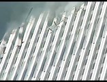 WTC exploding man, A person gets blown out of the WTC by what looks like an explosion