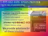 #1 855 662 4436 Epson Printer Not Responding-Printer Not Connecting- Epson Printer Technical Support