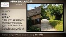 Te koop - Huis - RHODE-SAINT-GENESE (1640) - 220m²