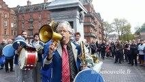 1er Mai du Familistère : les festivités lancées en fanfare à Guise
