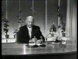 Gerhardsens tale ved åpningen av fjernsynet