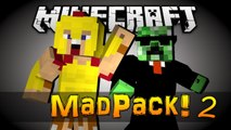 "Minecraft Mad Pack 2 - ""TOO MANY MOBS!"" - Ep 7 (MODDED SURVIVAL)"