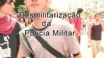 """Videos + de UMinuto - """"Copa Pra Quem?"""" traz uma nova pergunta: Polícia Militar pra quem?"""