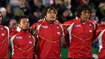 All Blacks Haka vs Japan Rugby World Cup 2011