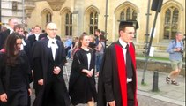 Corpus Christi College, Cambridge Graduation Procession 2012