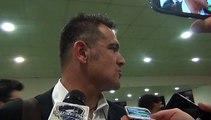 TIM CUP PRIMAVERA - Massimiliano Farris in zona mista