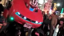 """Real life """"Transformer Optimus Prime"""" Best costume in Hollywood"""