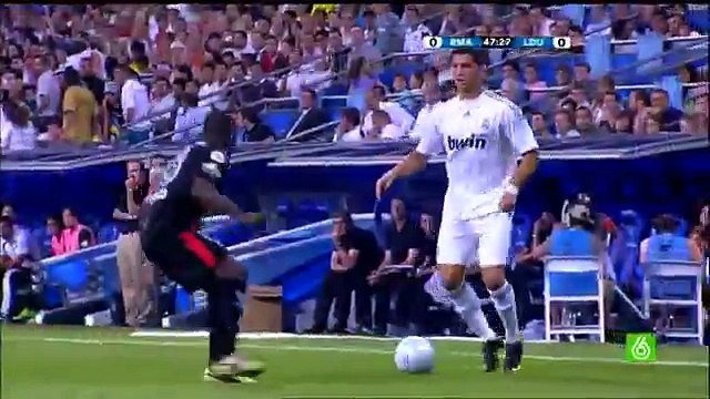 CRISTIANO RONALDO FIRST GOAL FOR REAL MADRID