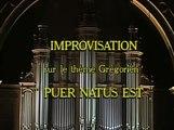 "Olivier Messiaen - improvisation ""Puer Natus Est"""