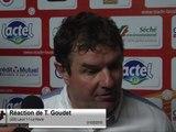 (J35) Laval 1-1 Le Havre, réaction de T. Goudet
