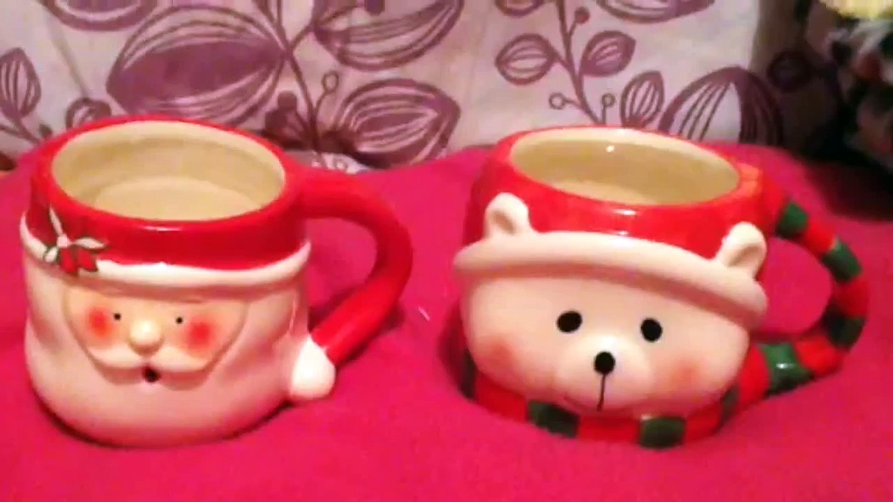 Christmas mugs for Hamsters!