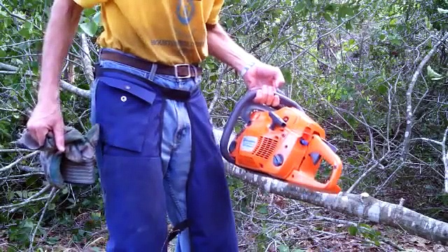Defective Brand New Husqvarna Chainsaw