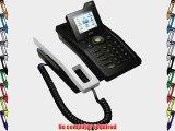 Ipevo SOLO Skype Desktop Phone (with LCD Display) - Skype Certified USB VOIP ..