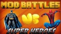 SUPER HERO MOD vs SUPER HERO MOD - MOD vs MOD - MINECRAFT MOD BATTLES (Ep. 5) - Part 2