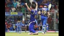 IPL 8 Sanju Samsons 46 ball 76 went in vain as MI beat RR