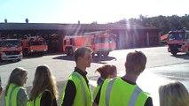 Start A380 & Einsatz der Flughafen-Feuerwehr Frankfurt