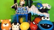 10 Surprise Eggs Kinder Toys w/ Marvel Super Heroes Thomas & Friends Little People & Kinder Magic!