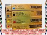 Genuine Xerox DocuColor 240 250 WorkCentre 7655 7665 7675 seriesToner Set 006R01219 006R01220