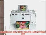 HP Photosmart 385 Compact Photo Printer (Q6387A#ABA)