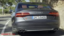 2015 AUDI S8 Review Full Video AUDI S8 Engine Sound AUDI S8 Interior Commercial CARJAM TV