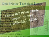 #1 855 662 4436 DELL Printer Not Responding-Printer Not Connecting- Printer Troubleshooting
