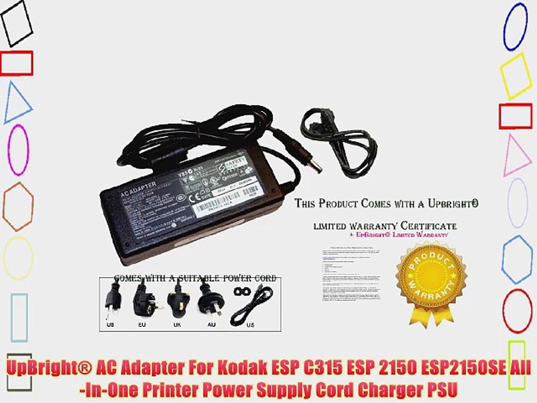 36vAC Adapter Charger For Kodak ESP C315 ESP 2150 ESP2150SE Printer Power Supply