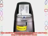 Dymo LabelWriter DUO 300dpi 55 labels per minute Label Printer 180dpi D1 tape Label Printer