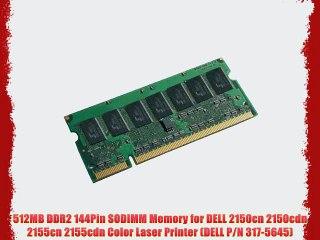 317-5645 512MB MEMORY for DELL LASER COLOR PRINTER 2150cn 2150cdn 2155cn 2155cdn
