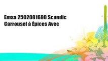 Emsa 2502081690 Scandic Carrousel à Épices Avec