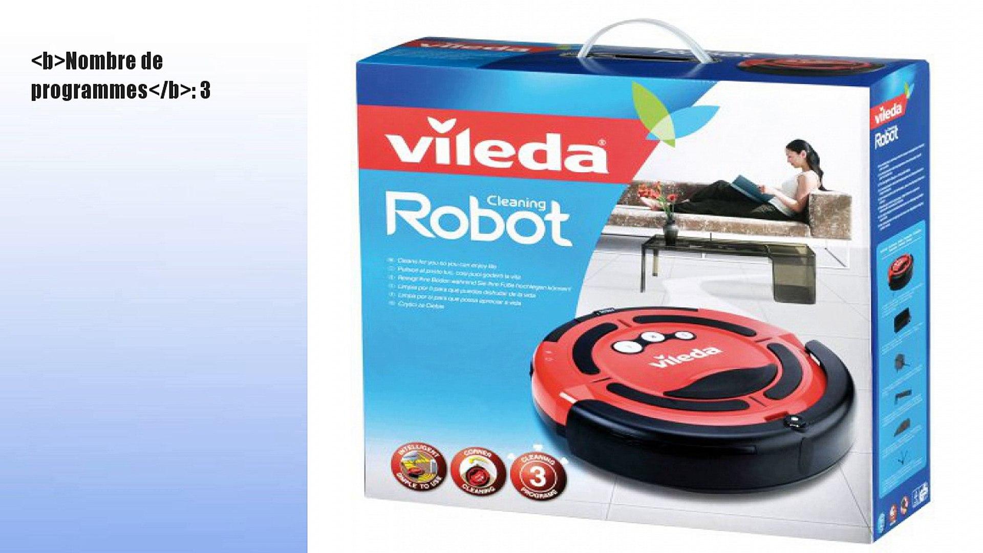 Vileda 137172 Robot Aspirateur Cleaning: : Cuisine