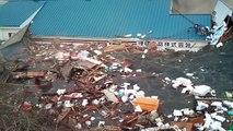 2011/3/11東日本大震災 大船渡市津波映像