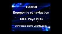 CIEL Paye 2015 : Ergonomie et navigation