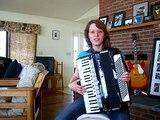 Rosamunde on accordion   akkordeon
