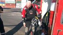 SKATs kontrolpersonale fandt 20 kilo kokain på et skib. Fredericia Havn. 2/10-2009. Kl. 14.20.