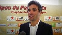 Arnaud Clément présente la deuxième édition de l'Open de tennis du Pays d'Aix - Trophée Caisse d'Epargne
