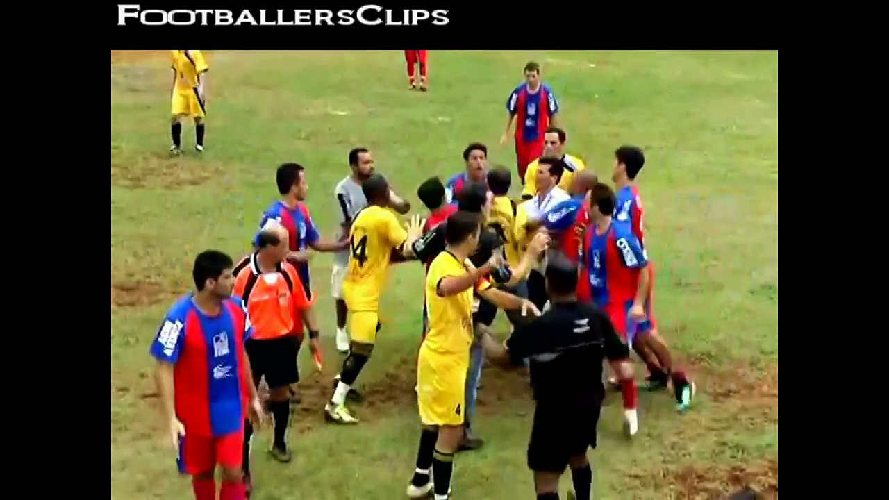 Funny Football Fights Compilation  Crazy Sports Fights
