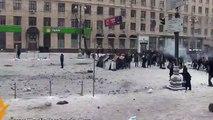 Бой на Улице Грушевского - Как это было