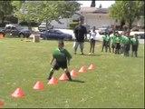 Agility Cones: Agility Cone Hurdle Soccer Training Drills