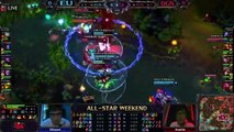 All Stars 2013 Europe vs Korea Game 1 Highlights League of Legends LCS LoL Allstar Matchup