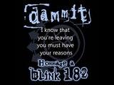 blink-182 Dammit lyrics