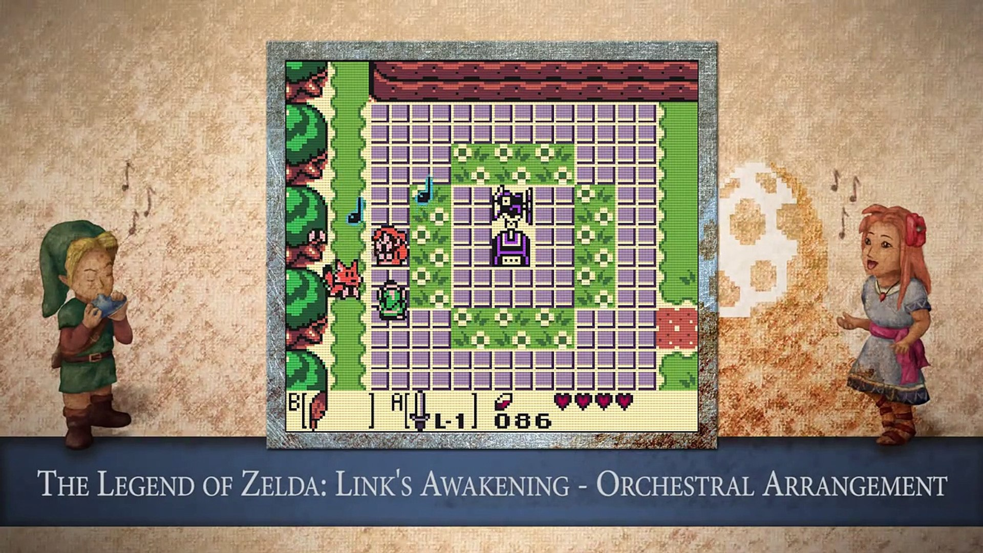 16 Marin Sings Ballad Of The Wind Fish The Legend Of Zelda Link S Awakening Orchestral Arrange